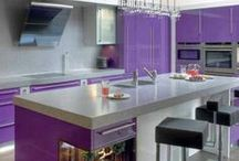 Kitchen and Diner * Purple