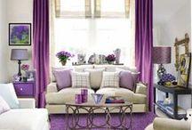 Living room * Purple