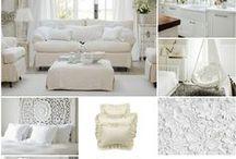 WHITE Home * Decor