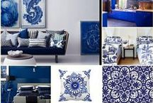 DARK BLUE Home * Decor / Royal and Navy