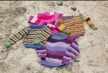 A Day At The Beach - May 2014 / Let them take a day off, run up the beach, roll down the dunes and play to their hearts content. A Day at the Beach features activity-friendly pieces made with machine washable yarns: Liberty Wool, Seedling and Sprout.