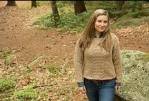 North River - November 2014 / Sweaters and cold weather accessories designed in alpaca blend yarns.