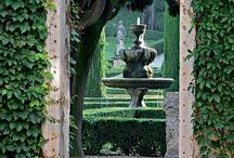 Giardini Segreti / Angoli nascosti nel verde . . .
