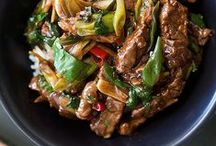 Asian Stir-Fry Recipes / Delicious Chinese stir fry recipes and Asian stir fry recipes.