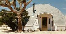 Dome in the Desert in Joshua Tree, CA