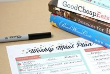 Meal Plans & Tips / Tips and recipes that help you plan you weekly meal really easy. Of course, many meal planners included!