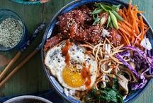 Asian One Bowl Recipes / A collection of delicious and healthy one dish meal recipes.