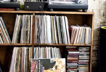 Let the music play.. / Home Is Where The Record Player Is