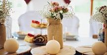 My*bohemian*wedding / #bohemian, #rustic wedding, #sweet table #wedding dress