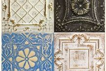 Artisan Tin Tile Finishes / Artisan panels are hand finished and great for DIY's, decorating, or a tin renovation. Learn more about Artisan panels: http://www.americantinceilings.com/resources/artisan-finishes.html?utm_source=pinterest&utm_medium=social&utm_campaign=samples&cpao=138&cpca=pinterest&cpag=social&kw=samples