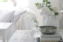 white | vintage | county living / interiors with patina, coziness, spaces to breathe and think