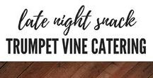 Late Night Snacks by Trumpet Vine Catering / Late Night Wedding Snacks by Trumpet Vine Catering
