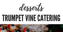 Desserts by Trumpet Vine Catering / Sweet Snacks by Trumpet Vine Catering