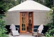 yurts, pods & tiny homes / how much space and how many objects does a human need to live comfortably? maybe less than we think.