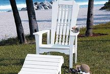 Your space /chair / Outdoor living is the ultimate expression of The Kiwi Dream*