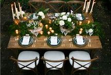 TABLE SETTING / - Make your table a place for celebration and a warm gathering-
