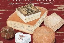 Franse Kazen / Cheese from France, and my favorite: les fromages d'Auvergne. De mooiste kazen uit Frankrijk.