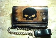 Portafogli / Leather Wallets / Realizzati a mano / Handmade