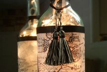 Wijnflessen ideetjes
