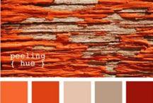 Autumn chart / Automne / www.amandinebaron.com / Palette Automne / couleurs chaudes, profondes et automnales, blush abricot, tâches de rousseurs, roux flamboyant, blond vénitien, regard profond