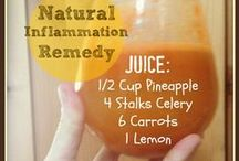Juice and Smoothie Recipes / Juicing fruits and vegetables.  Protein Smoothies.