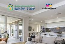 Build for a Cure 2016 / McDonald Jones Homes are building for a cure again, but this time it's in our own backyard! After successfully building and auctioning one of our stunning architecturally designed homes in Sydney in 2014 for $783,000, the McDonald Jones team is again rising to the challenge of raising much-needed funds to support the critical work of Children's Cancer Institute