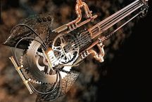 SteamPunk / I'm fascinated & intrigued by steampunk design...