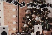 CHRISTMAS / home - christmas - decorating