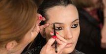 NY Fashion Week 2015 - Nicholas K - Primavera / Lauren Andersen, Maquilhadora Global AVON, criou um look inspirado no Deserto do Saara para o desfile Nicholas K Primavera 2015 na New York Fashion Week, usando Maquilhagem AVON #AVON #MaquilhagemAVON #NYFW