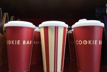 Hot Drinks / We serve a range of coffees, teas and other beverages.