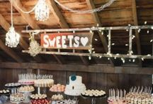 """Candy buffets / """"Love is sweet. Take a treat""""- The Vintage Way can help you create a unique candy bar for your special occasion. On this board you will find the photos that inspire us (and which we would love to recreate for you). www.thevintageway.com.au"""