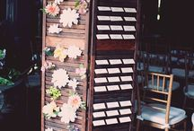 Escort Cards / Guide your guests to their seats in style