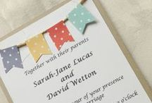 Invitations / Handmade Wedding Invitations to Inspire