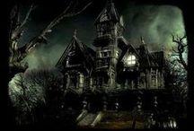 Les lieux hantés / Endroits, maisons, bâtiments ayant la réputation d'être hantés.