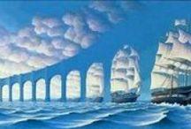 Juste une illusion... / Des illusions d'optiques bluffantes, réalistes, complexes, détournantes.