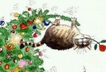 Animals and Christmas etcetera.