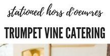 Stationary Appetizers & Hors d'oeuvres by Trumpet Vine Catering