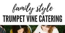 Family Style Dinner by Trumpet Vine Catering