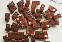 Leather pulls & handles / Leather pulls and home decor accessories, scandistyle