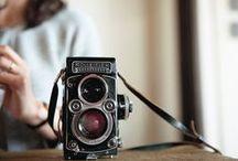 Cameras. / by Abbie McDonald.