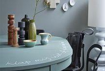 Inspiratie Schoolbordverf | Verf & Wand / Inspiratie schoolbordenverf in huis.