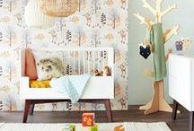 Behang kinderkamer | Verf & Wand / #babykamer #kinderkamer #behang inspiratie