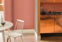 Trendkleur 2015 Copper Orange en Marsala / #Copper Orange #coloroftheyear2015 inspiratie #wonen #trendkleurjaar2015 #pantone18-1438 #marsala