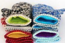 Luer, votter,sokker / Knitting, mittens, socks, hats