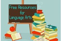 Elementary Language Arts / Elementary Language Arts Ideas and Resources | some may be suitable for other ages too / by SC Assoc. of Independent Home Schools