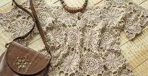 Boho Crochet / Ultra-feminine Knitted Openwork Clothing & Accessories