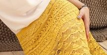 Crochet Dresses / Ultra-feminine Knitted Openwork Clothing & Accessoriesие