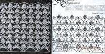 Pattern Crochet / Ultra-feminine Knitted Openwork Clothing & Accessories