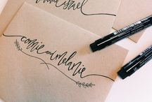 handwriting/fonts / ways to write and fonts to write in / by abby