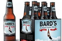 """Bard's Beer / Bard's Beer is America's first gluten-free sorghum beer and the only beer brewed with 100% malted sorghum. Beer sommeliers describe Bard's as """"medium clear amber gold colour with moderate head; aromas of roasted malt, toasted grains with sweet fruit notes; off-dry, medium bodied, with balanced hops, flavours of apple, caramel and sweet [gluten-free] grain."""""""